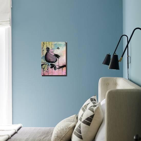 Baby Motus Stretched Canvas Print Annie Rodrigue Art Com