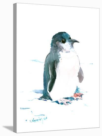 Baby Penguin 2-Suren Nersisyan-Stretched Canvas Print