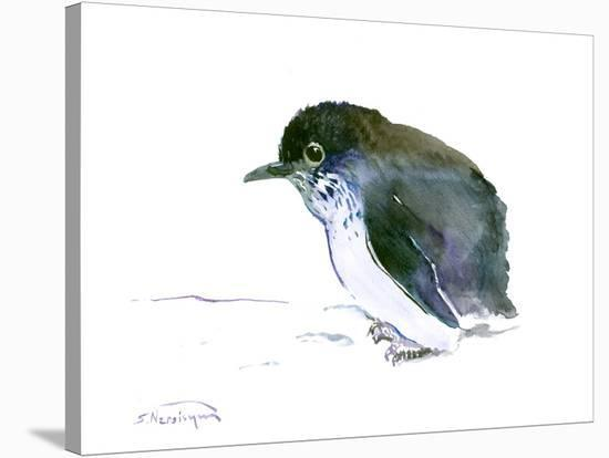 Baby Penguin 4-Suren Nersisyan-Stretched Canvas Print