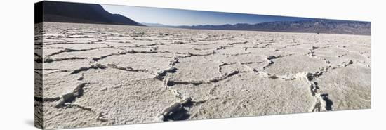 Badwater in Death Valley I-Richard Desmarais-Stretched Canvas Print