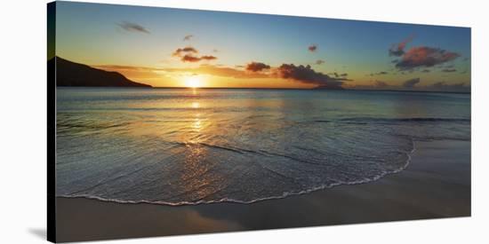Baie Beau Vallon, Seychelles-Frank Krahmer-Stretched Canvas Print