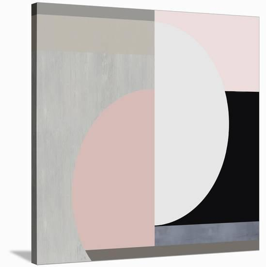 Balanced Blush II-Justin Thompson-Stretched Canvas Print