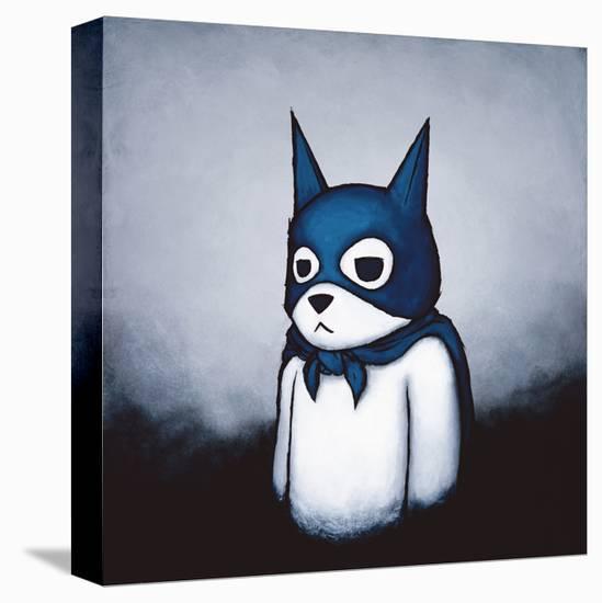 Bat Bear-Luke Chueh-Stretched Canvas Print