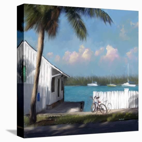 Beach 01-Rick Novak-Stretched Canvas Print