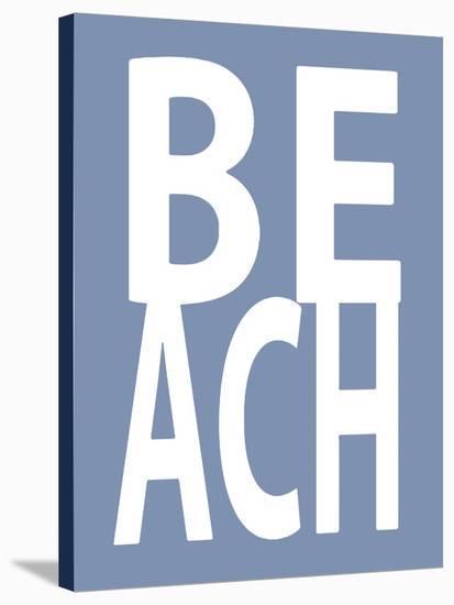 Beach Blue-Jamie MacDowell-Stretched Canvas Print