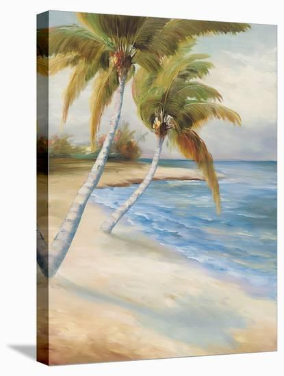 Beach Haven-Marc Lucien-Stretched Canvas Print