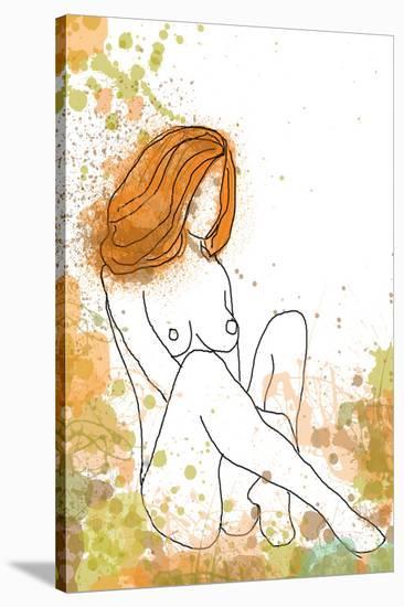 Beautiful Nude Women-Irena Orlov-Stretched Canvas Print