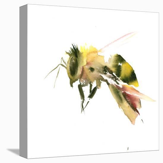Bee 2-Suren Nersisyan-Stretched Canvas Print