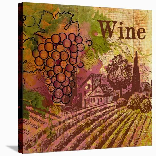 Best Wine-Irena Orlov-Stretched Canvas Print