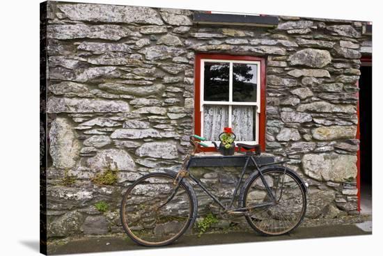Bicycle-Richard Desmarais-Stretched Canvas Print