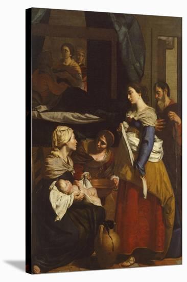 Birth of Virgin-Francesco Guarino-Stretched Canvas Print
