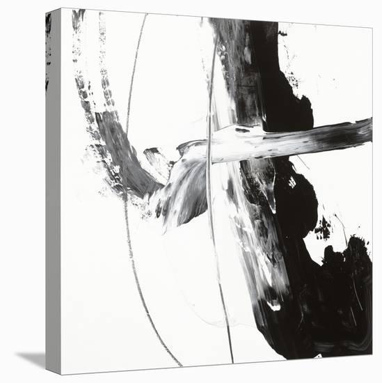 Black and White H-Franka Palek-Stretched Canvas Print