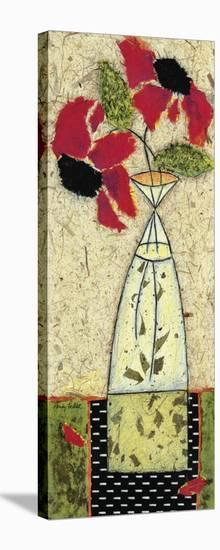 Black Eyed Rosas I-Penny Feder-Stretched Canvas Print