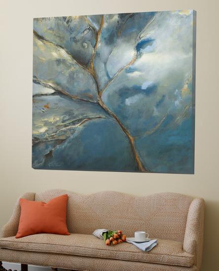 Bleu-Kathleen Cloutier-Loft Art