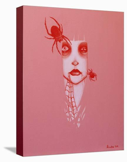 Blood Webs-Ally Burke-Stretched Canvas Print