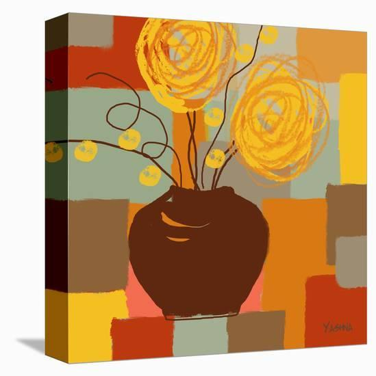 Blossoming I-Yashna-Stretched Canvas Print