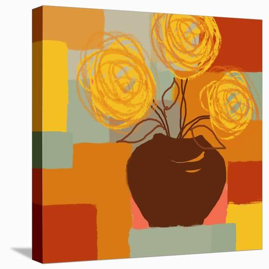 Blossoming II-Yashna-Stretched Canvas Print