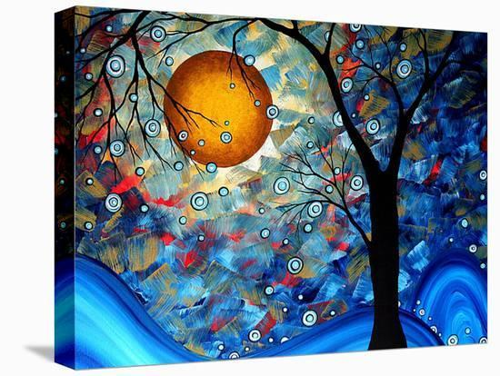 Blue Essence-Megan Aroon Duncanson-Stretched Canvas Print