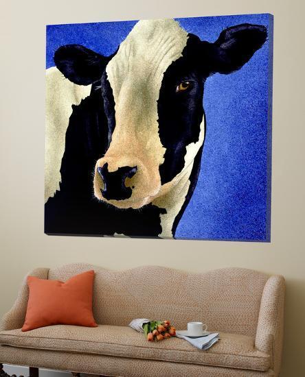 Blue Moo Moo-Will Bullas-Loft Art