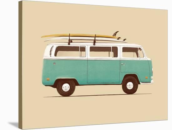 Blue Van-Florent Bodart-Stretched Canvas Print