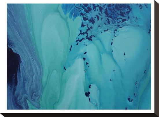 Blue Vision-Deb McNaughton-Stretched Canvas Print