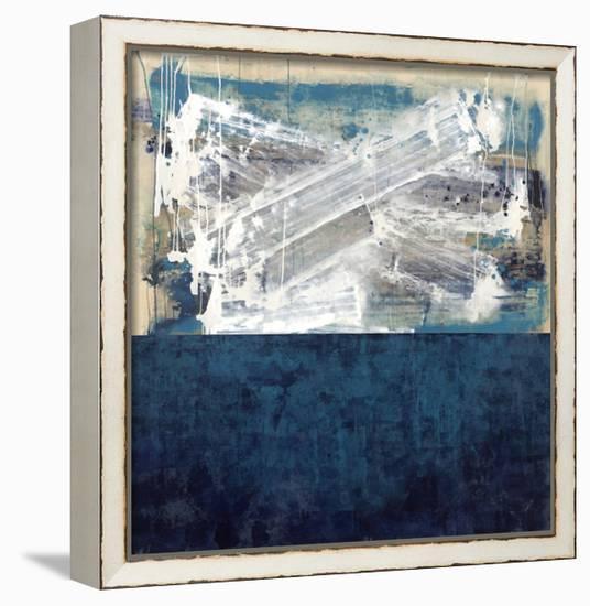 Blue Wash-Kari Taylor-Framed Canvas Print