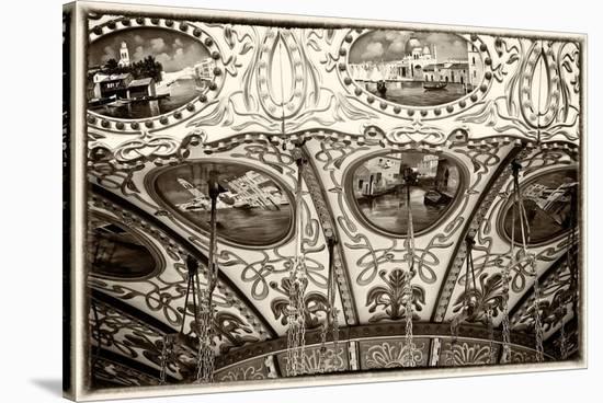 Boardwalk Art Detail-Elizabeth St. Hilaire Nelson-Stretched Canvas Print
