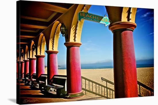 Boardwalk Stroll-Elizabeth St. Hilaire Nelson-Stretched Canvas Print