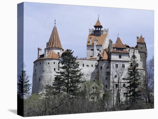 Bran Castle, (Dracula's Castle), Bran, Romania, Europe-Occidor Ltd-Stretched Canvas Print