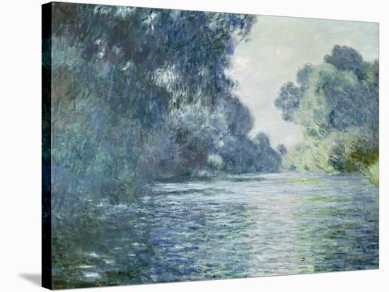 Branch of the Seine Near Giverny, 1897-Claude Monet-Stretched Canvas Print