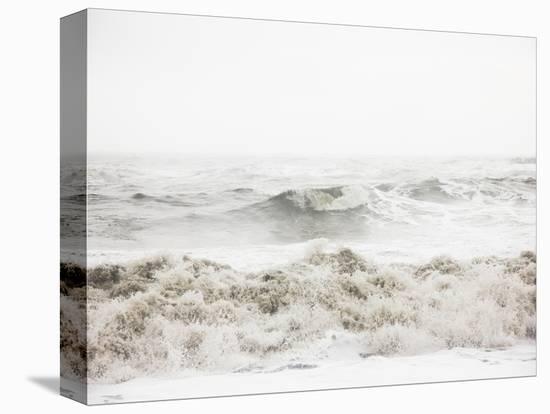Breaking Waves-Design Fabrikken-Stretched Canvas Print