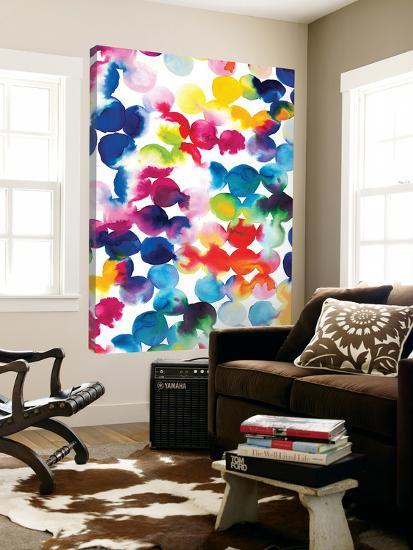 Bright Circles--Loft Art
