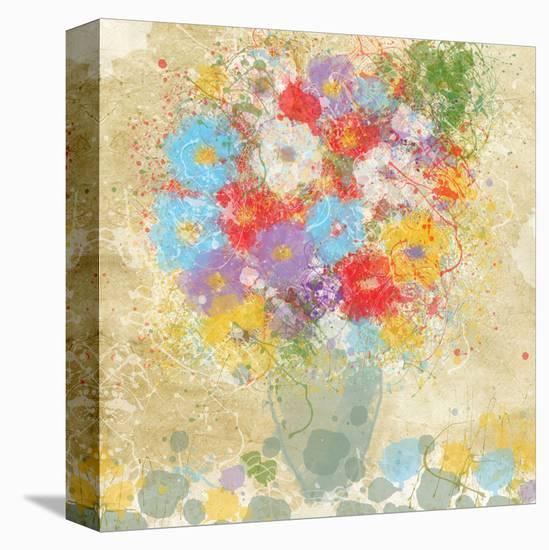Bright Flowers II-Irena Orlov-Stretched Canvas Print