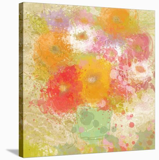 Bunch of Flowers-Irena Orlov-Stretched Canvas Print