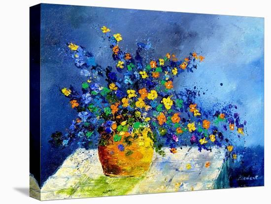 bunch of flowers-Pol Ledent-Stretched Canvas Print