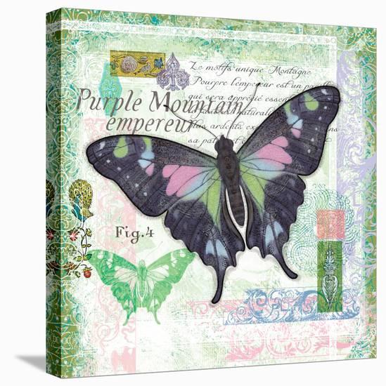 Butterfly Artifact Green-Alan Hopfensperger-Stretched Canvas Print