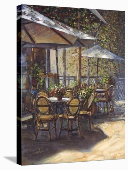 Cafe Callas-Joe Sambataro-Stretched Canvas Print