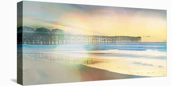 California Cool - Jetty-Chuck Brody-Stretched Canvas Print
