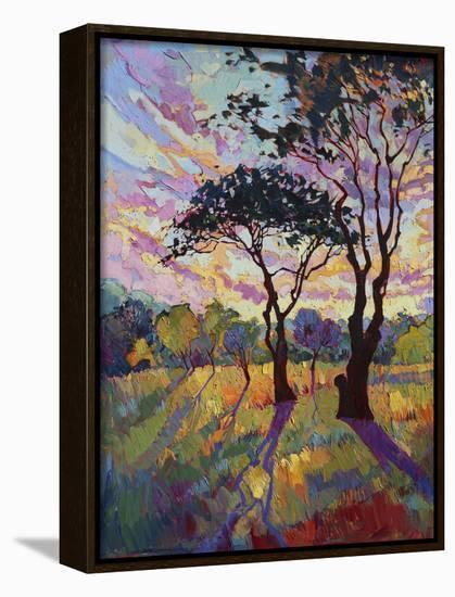 California Sky (bottom left)-Erin Hanson-Framed Canvas Print