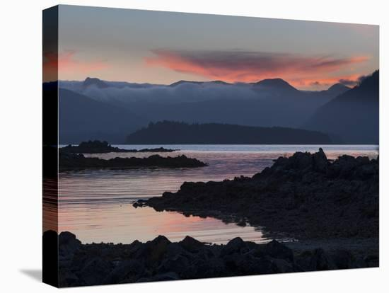 Canada, British Columbia, Pacific Rim National Park. Broken Islands Marine Park-Merrill Images-Stretched Canvas Print