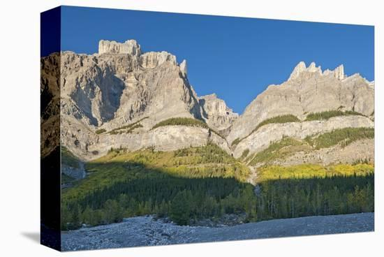 Canadian Rockies-Mike Grandmaison-Stretched Canvas Print