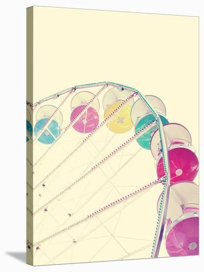 Candy Wheel--Stretched Canvas Print