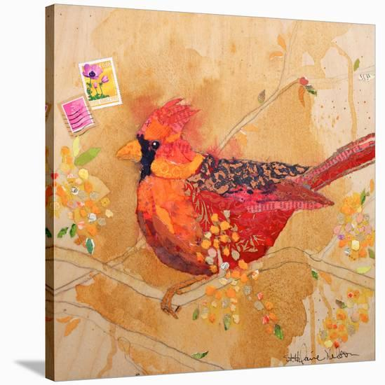 Cardinalsm--Stretched Canvas Print