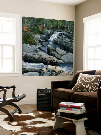 Cascades dans les Bois-Francs-Sylvia Audet-Loft Art