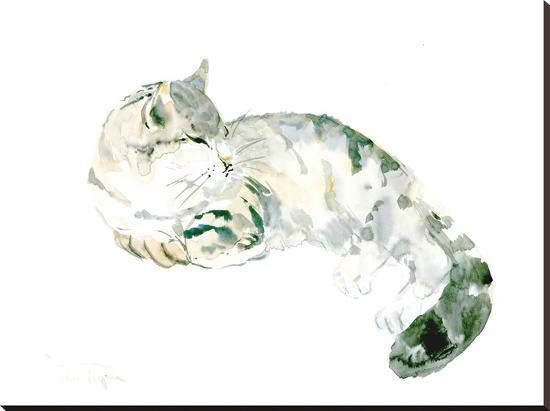 Cat-Suren Nersisyan-Stretched Canvas Print