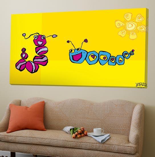 Caterpillar Friends-Yaro-Loft Art