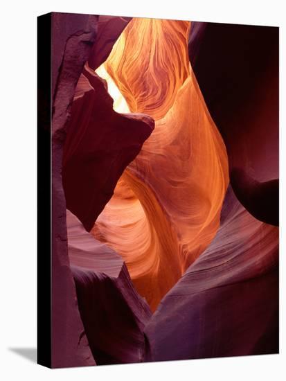 Cavernous-Art Wolfe-Stretched Canvas Print