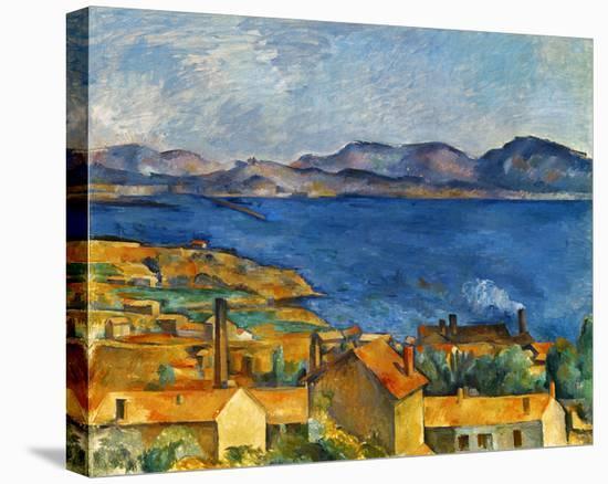 Cezanne:Marseilles,1886-90-Paul Cézanne-Stretched Canvas
