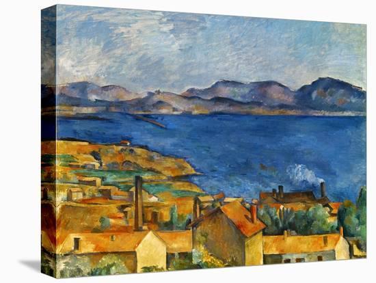 Cezanne:Marseilles,1886-90-Paul Cézanne-Stretched Canvas Print