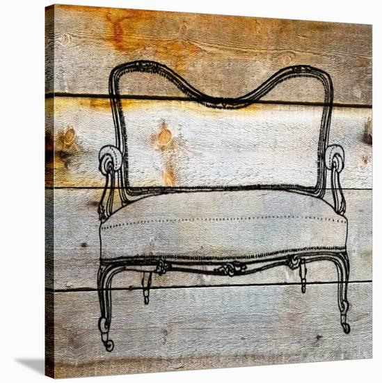 Chair II-Irena Orlov-Stretched Canvas Print